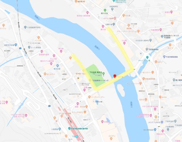 見どころスポット地図