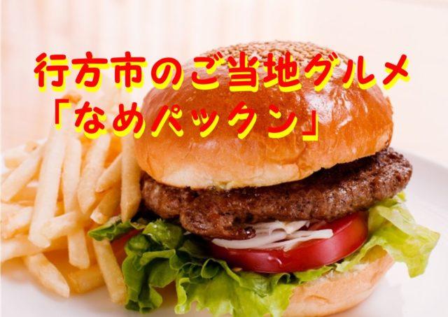 なまずバーガーを食べてみよう!茨城県行方市のご当地グルメ「なめパックン」