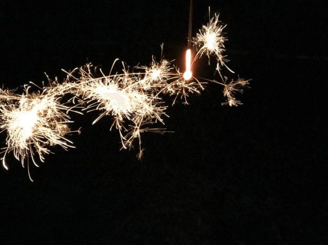 西の線香花火「スボ手牡丹」レビュー実際の燃焼時間と感想【動画付き】