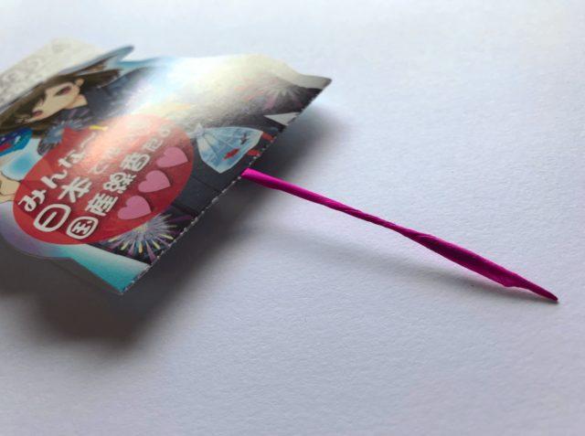絵型国産線香花火のキャラクター「星空まつり」のパッケージ