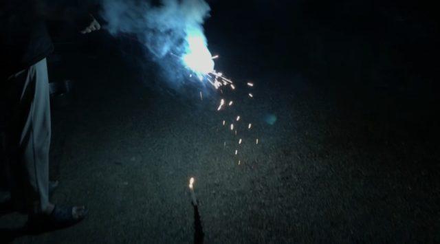 「カラフル15」すすき手持ち花火を実際に使ってみた感想