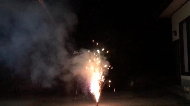 噴出花火「常夏之夜」を実際に使ってみた感想