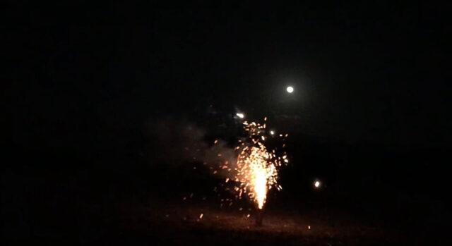 「予測不可能」噴出花火を実際に使用してみた感想